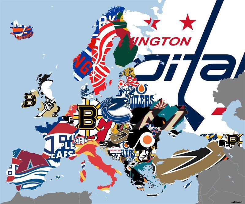 Europe's favorite NHL teams
