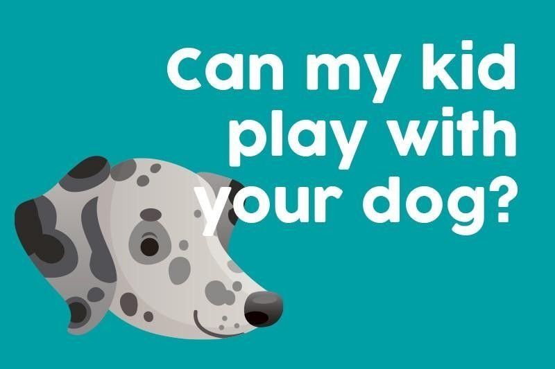 Can my kid play with your dog?