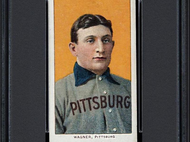 Honus Wagner 1909-11 T206 card