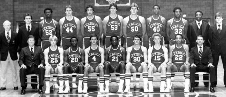 1978 Kentucky Wildcats team photo