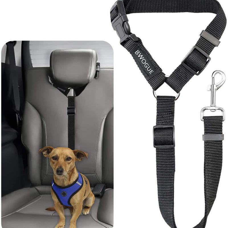Head cushion dog car seat belt