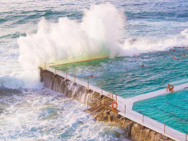 Bondi Icebergs pool in Sydney, Australia