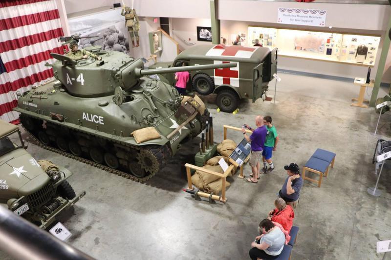 Wright Museum of WWII Pershing tank