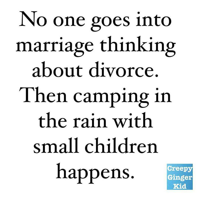 Camping with kids meme