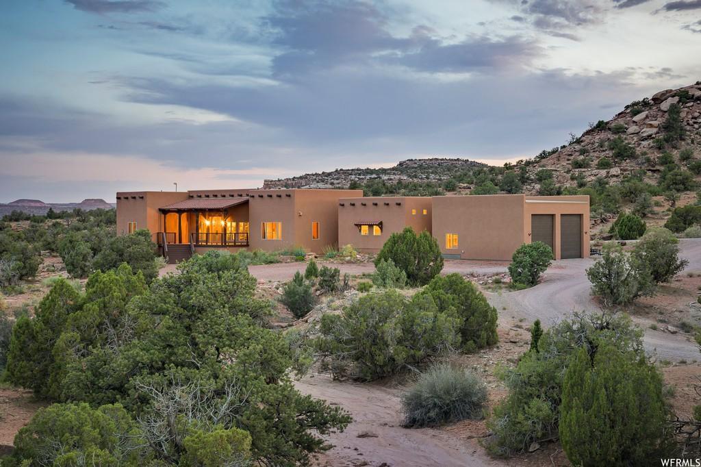 Pueblo-style house in Moab, Utah