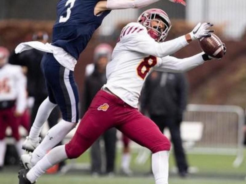 Central Catholic wide receiver Silas Star