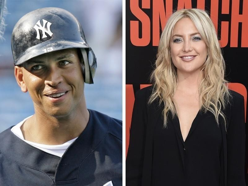 Alex Rodriguez and Kate Hudson