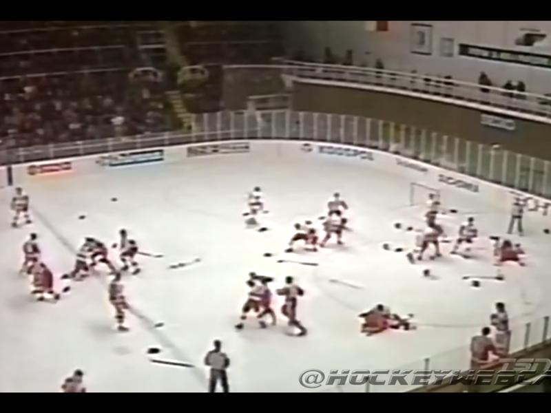 Canadian, USSR National Junior Hockey