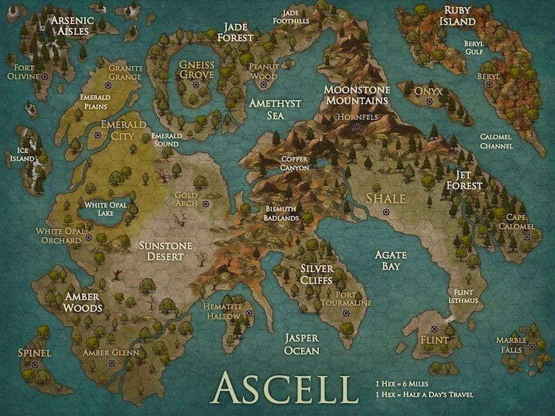Dungeons and Dragon's Ascell