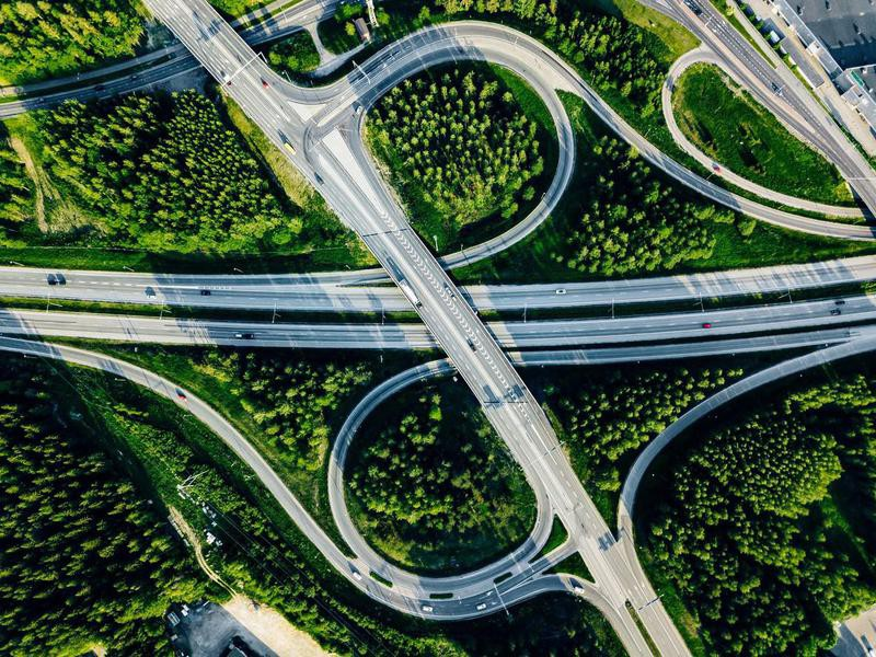 Highway in Finland