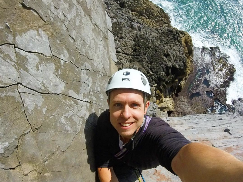 Climbing Selfie