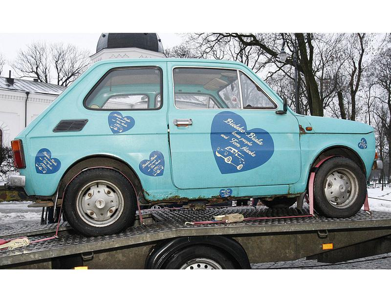 The Fiat the City of Sukwalki purchased for Tom Hanks