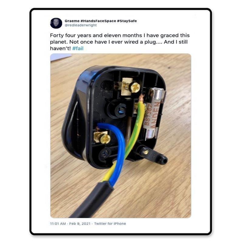Wiring plug fail