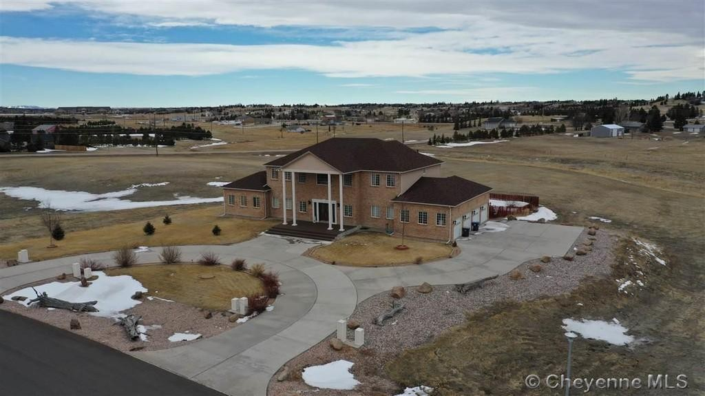 Expensive home in Wyoming