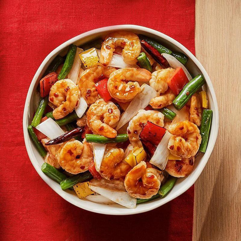 Firecracker Shrimp (Healthy Fast Food Item)