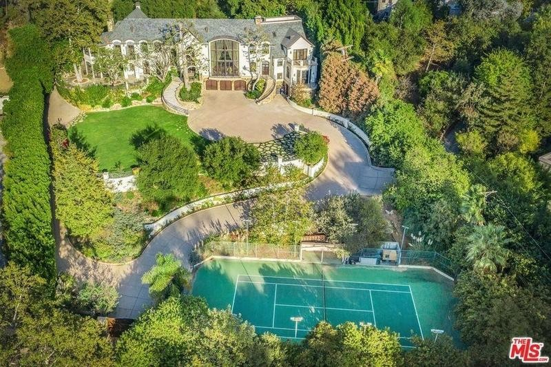Gene Simmons house in Beverly Hills