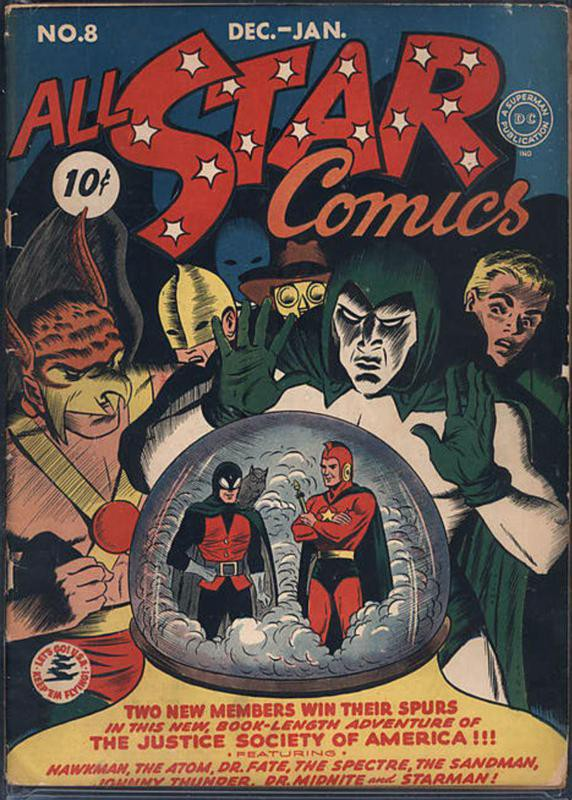 All Star Comics No. 8