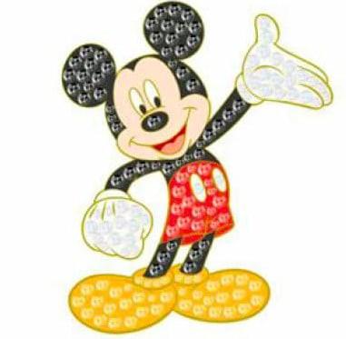Dream Jeweled Mickey Mouse Disney pin