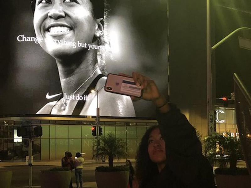 Naomi Osaka Nike ad