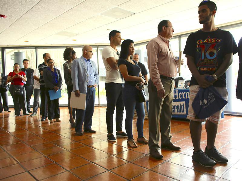 Job fair in Miami