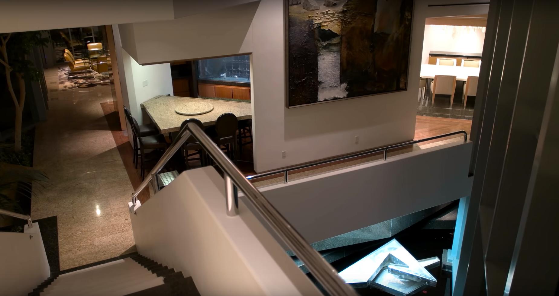 Pharrell Williams' open floor plan