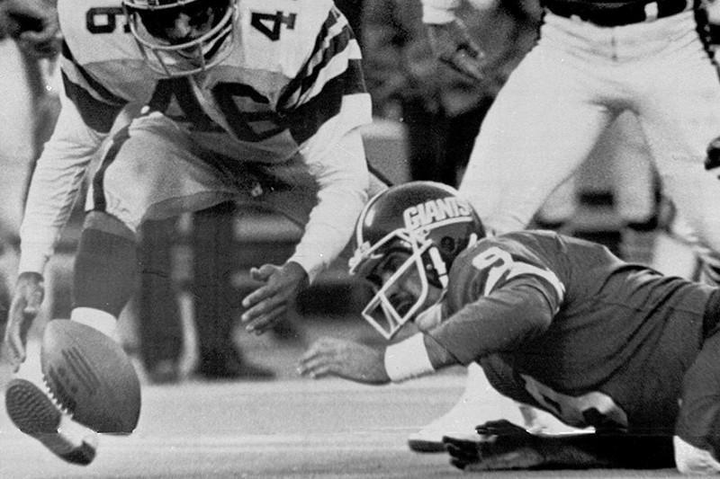 New York Giants quarterback Joe Pisarcik