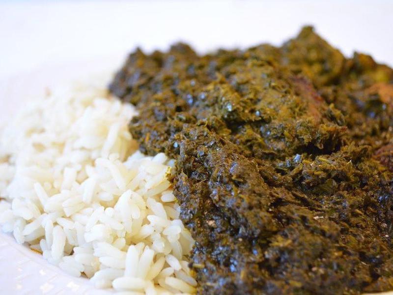Cassava Leaf Stew
