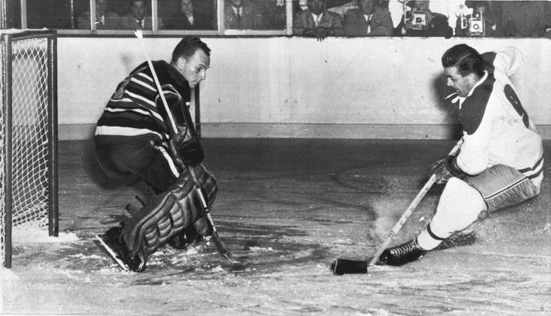 Montreal Canadiens right wing Maurice Richard