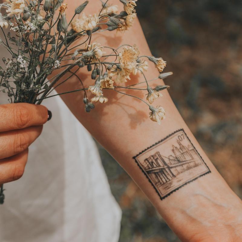 Stamp Tattoo