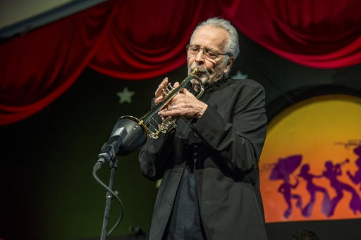 Herb Alpert at the 2017 New Orleans Jazz and Heritage Festival