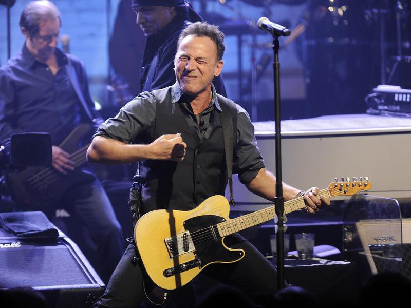 Bruce Springsteen at the Apollo Theater in 2012