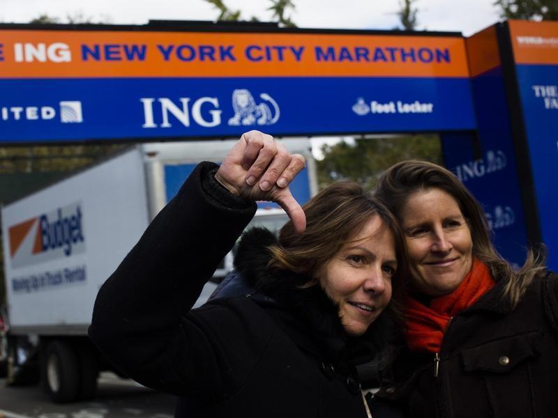 Disappointed New York City marathoners