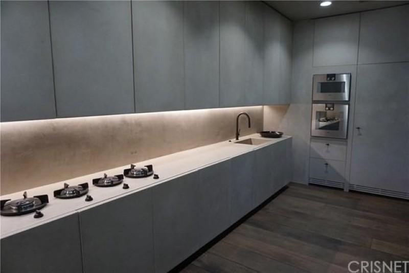 Brutalist kitchen