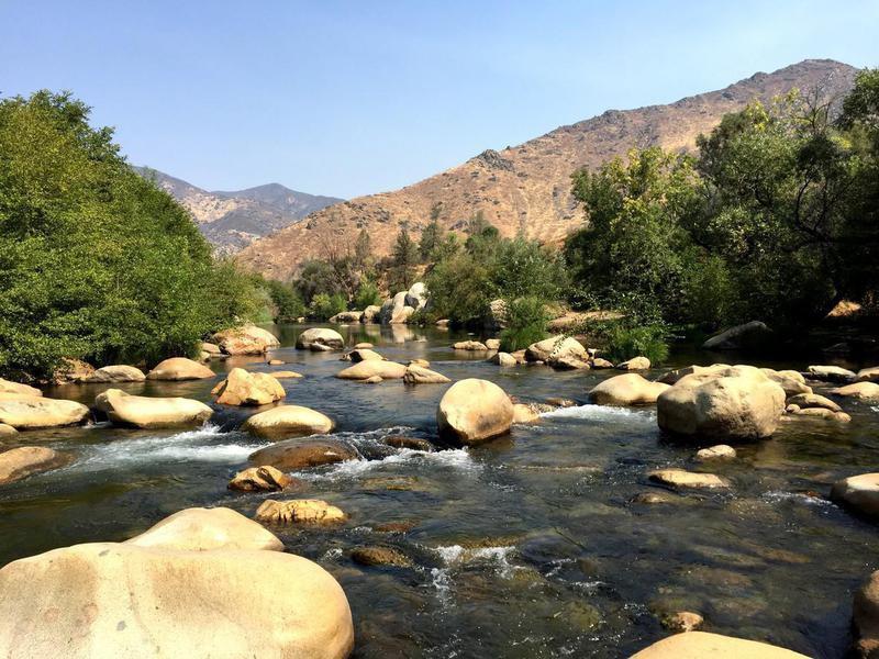 Kern River in California