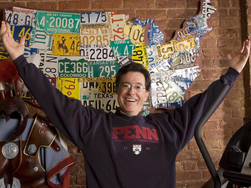Stephen Colbert used comedy to cope, both in school to make friends and at home to keep his mother happy.