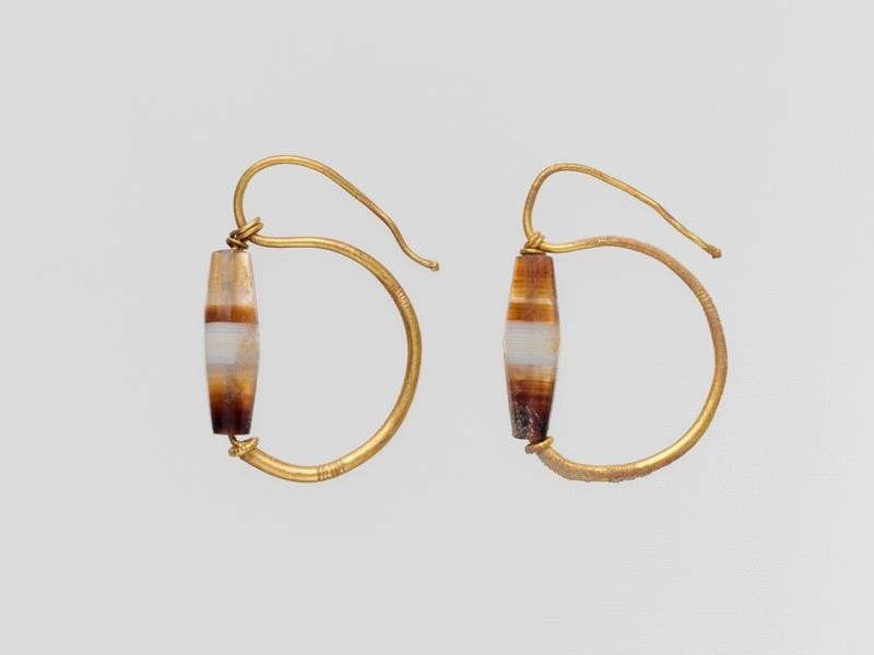 Ancient Roman earrings