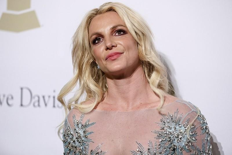 Britney Spears at the Pre-Grammy Gala