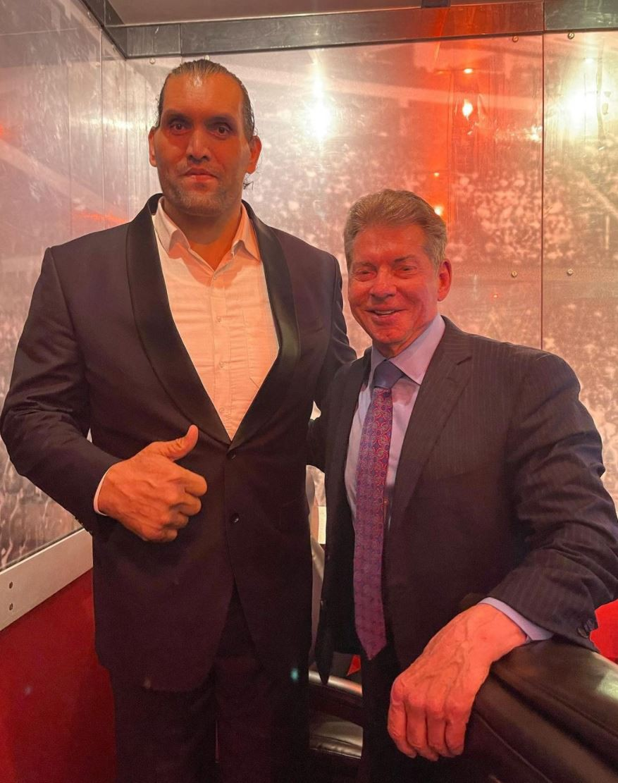 The Great Khali and Vince McMahon