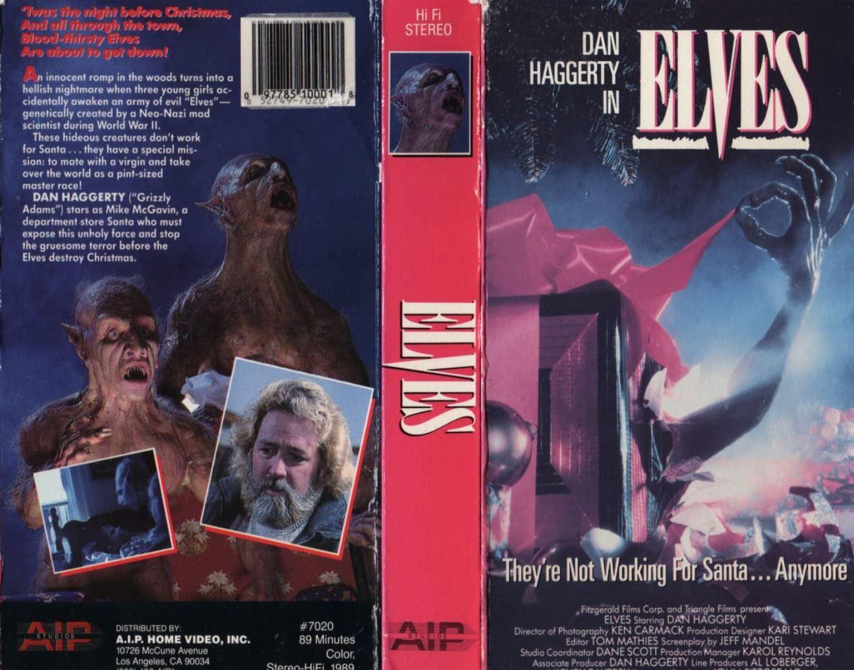 Elves VHS cover