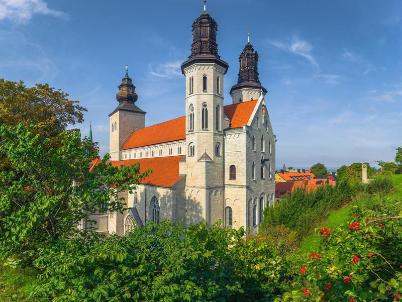 Visby in Gotland County