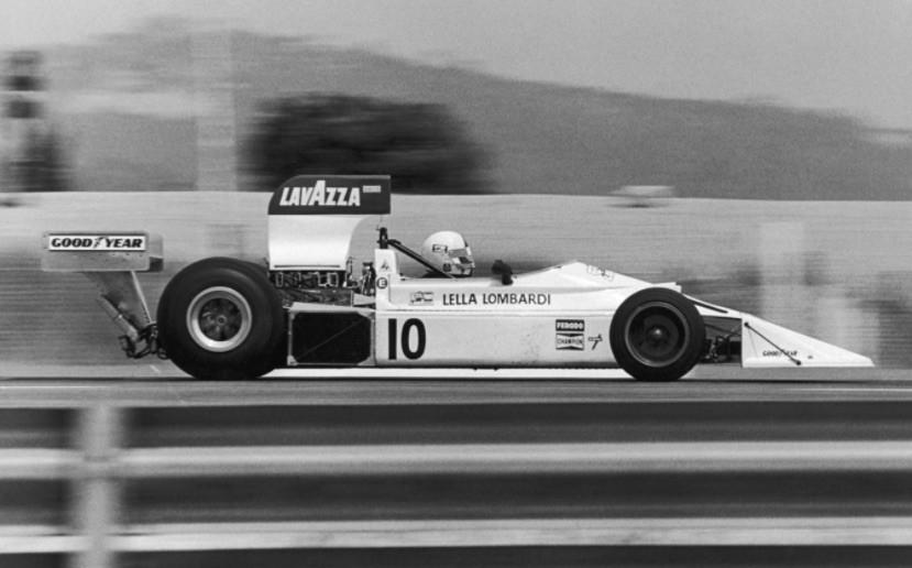 Lella Lombardi driving