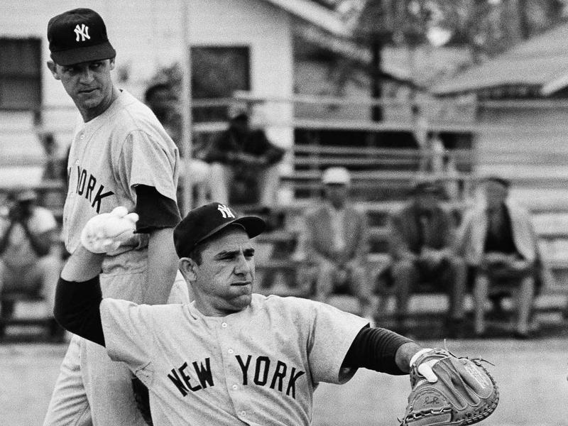 Phil Linz and Yogi Berra
