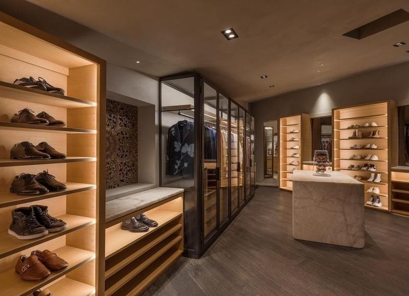 John Legend's closet