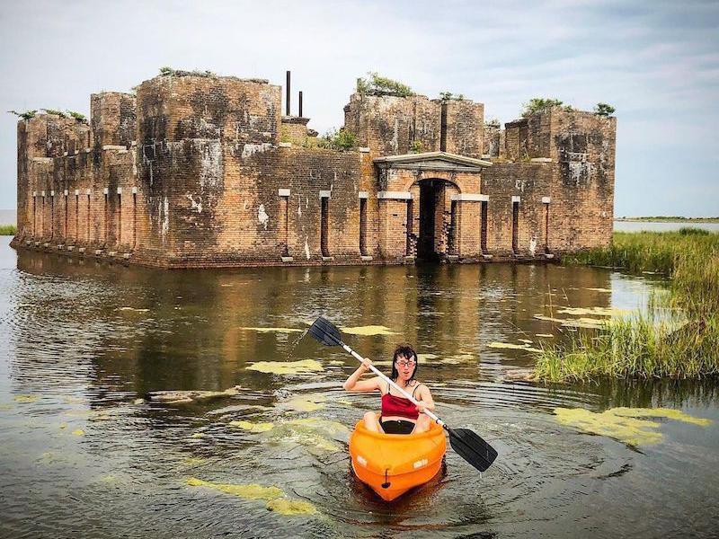 Kayaking in Fort Proctor