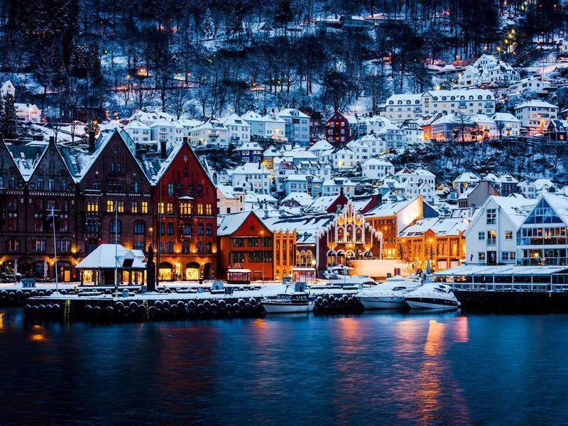 Hanseatic houses in Bergen