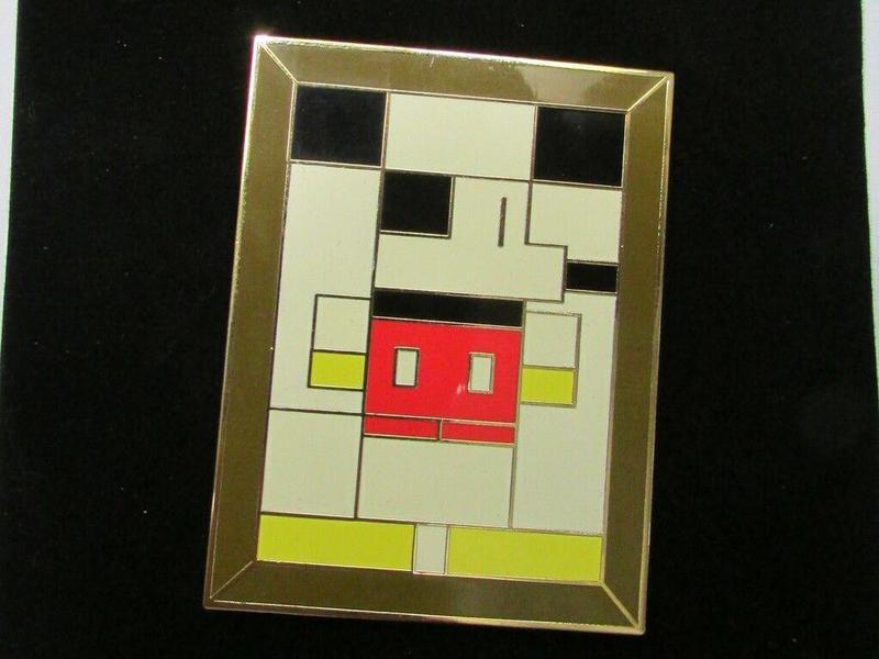 Disney Auctions Masterpiece Series #1 Mondrian Mouse