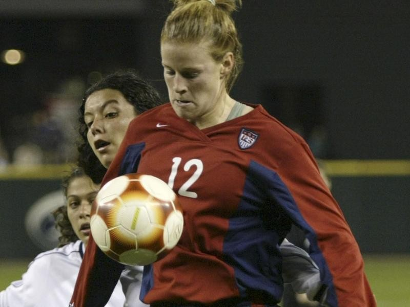 USWNT forward Cindy Parlow Cone