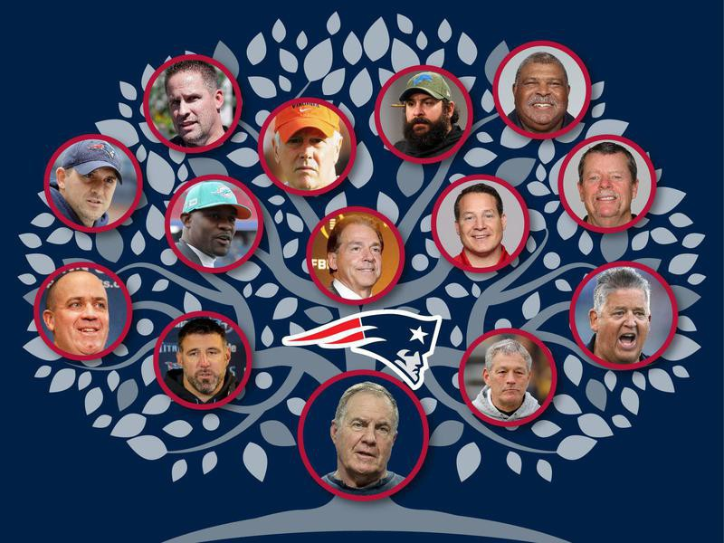 Bill Belichick's Coaching Tree