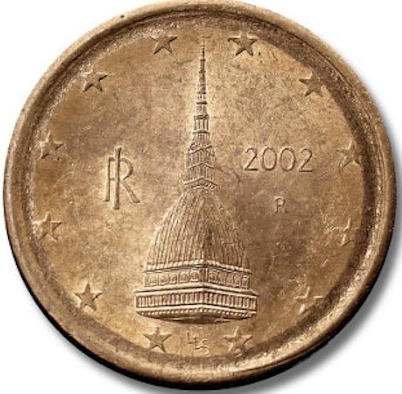 2002 Italian 2 Cent