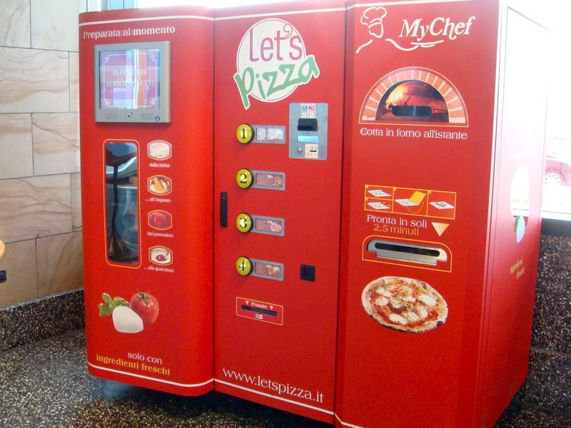 let's pizza machine